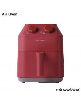 RECOLTE AIR OVEN 氣炸鍋 2.8L 紅色 送料理夾子