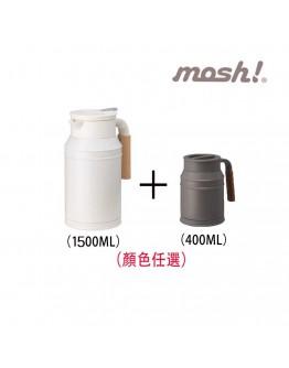 mosh! 保溫壺1.5L + 馬卡杯 400ml  Table Top 1.5L Tank  +  Mug Cup 400ML (Bundle)