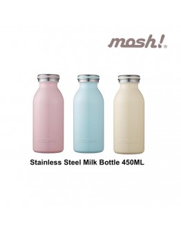 mosh! Stainless Steel Thermal Bottle 450ml