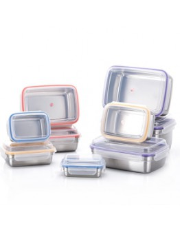 Stenlock Posco 304不锈钢保鲜盒 (Cube series)