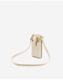 JWPEI Quinn Phone Bag Ivory Croc