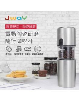 Jway 咖啡館配套 (隨身手沖 + 現烤咖啡豆3盒)