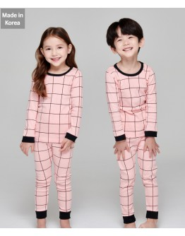 韓國製作睡衣 - Check Pink【預計11月尾發貨】