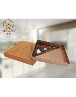 chefmade 11'' Non-stick Cookie Sheet 不粘正方形碳钢蛋糕卷 WK9076 【預計11月頭發貨】