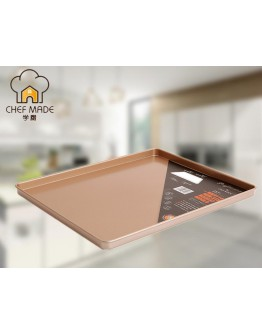 chefmade 12''/13''/ 15''/ 17'' Non-stick Cookie Sheet Rectangle Baking Tray WK9114/ WK9042/ WK9121 / WK9122 【預購11月頭發貨】