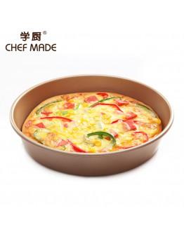 chefmade 9-inch Round Cake/Pizza Pan  9寸不粘加深披萨烤盘 WK9066【預購11月頭發貨】