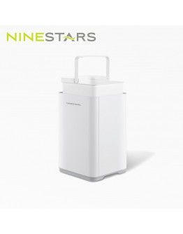 NINESTARS 感應垃圾桶 10+7L 白 【 預計10月尾發貨 】
