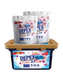 Depex洗衣液胶囊清洁剂  (1 盒 30粒x10g ) 【現貨】