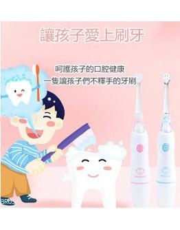 MARUDAI 0-6岁 电动牙刷宝宝软毛刷头替换两色 1年報家