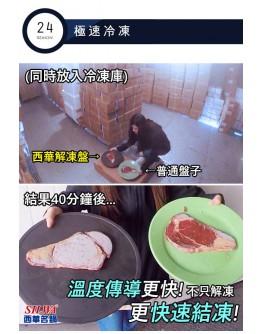 SILWA 節能板/ 解凍板/ 節能冰霸+極速解凍盤 【預購11月尾發貨】
