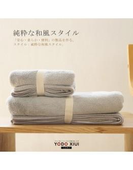 YODO 浴巾150x75cm + 毛巾 80x34cm(2入)