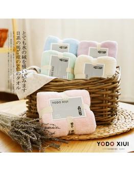YODO超细纤维浴巾+ 毛巾(2入)